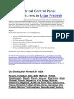 Electrical Control Panel Manufacturers in Uttar Pradesh