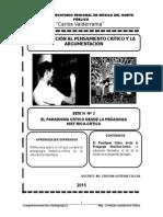 Tema 2 El Paradigma Crítico Desde La Pedagogía Histórico-crítica