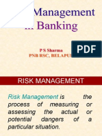 Risk Mangement in Banks