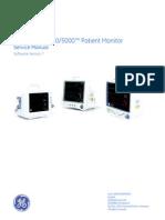 GEHC Service Manual Dash 3000 4000 5000 Patient Monitor v7