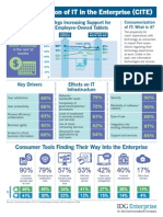 Consumerization of IT in the Enterprise (CITE) Infographic