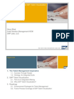 Talent Management and SAP Talent Visualization