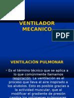 Ventilador Mecanico