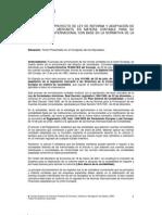 Proyecto reforma mercantil
