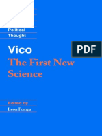 Vico, Giambattista - First New Science, The [1725] (Cambridge, 2002)