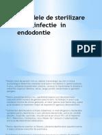 dezinfectia in cabinetul stomatologic  endodontie