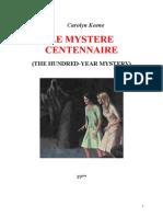 Caroline Quine Les Sœurs Parker 32 VO The Hundred Year Mystery 1977.doc