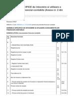 Codfiscal.net-NORMELE SPECIFICE de Intocmire Si Utilizare a Documentelor Financiar-contabile Anexa Nr 2 Din OMEF 35