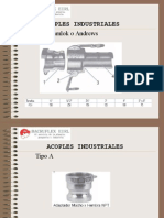 Charla de Acoples Industriales -Camlock-garra