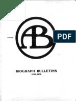 Biograph Bulletins (1896-1908)