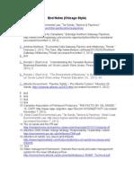 ACJ Course Description | Dentist | Test (Assessment)