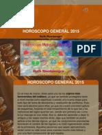 Horóscopo General Para Marzo 2015