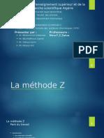 La Méthode Z