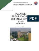 Plan de Contingencia de la Universidad Peruana Unión