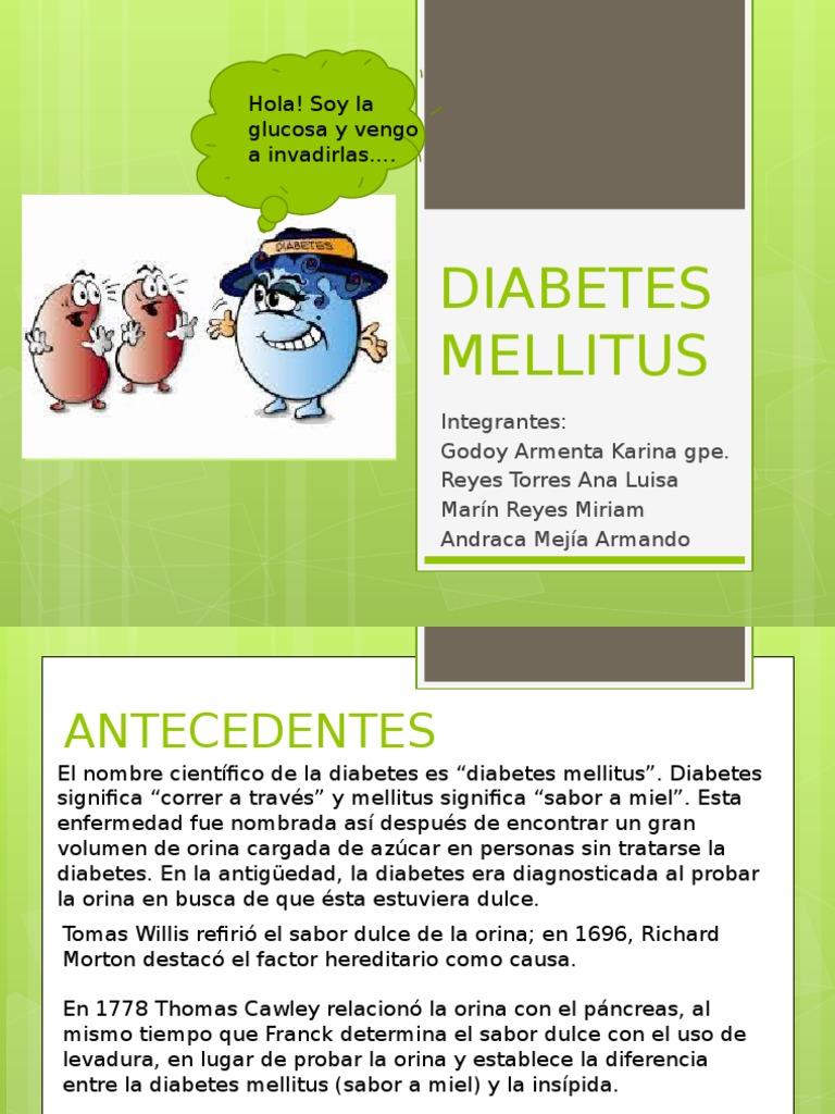 diabetes dulce orina