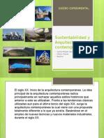 Sustentabilidad y Arquitectura Contemporánea