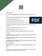 LA POLÍTICA EXTERIOR DE ESPAÑA EN EL SIGLO XX, Florentino Portero