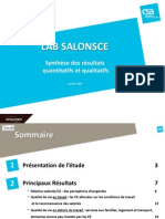 Lab SalonsCE. Etude CSA sur La qualité de vie au travail.