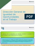 IGUALDAD DE OPORTUNIDADES EN EL TRABAJO