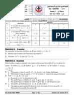 02-SV Examen de Janvier