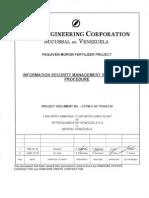 Ccfm-u-00-Tp540_130_ r1_information Security Nanagetment System (Isms) Procedure