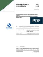 NTC 4145 Edificios. Escaleras..pdf