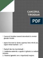 cancerul tiroidiana