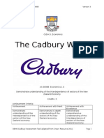 as 90988 cadbury assessment 2015 - student copy