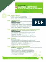 """Programa Encontro Nacional """"Valorizar o Território – Descentralizar e Aproximar"""""""
