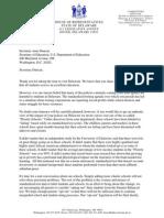 Sec. Duncan Letter