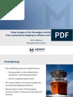 Norwegian Maritime Industry