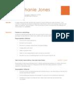 resume- advertising