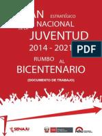 Plan Estrategico Nacional de La Juventud 2014 2021 2014