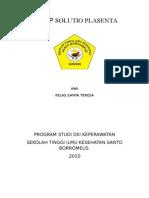39628843 Askep Solutio Placenta