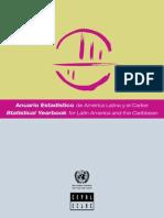 Anuario Estadistico America Latina y Caribe 2014