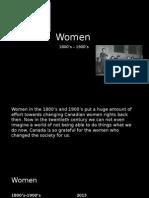 women powerpoint presntation