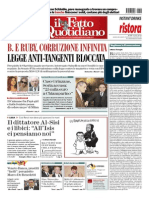 Il Fatto Quotidiano 18 02 2015