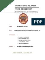 Estructuracion y Granulometria de Suelos.
