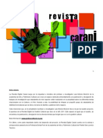 Descripcion Proyecto Revista Carani