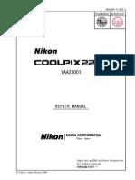 Nikon Coolpix 2200 Repair