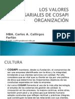 Aplicación de los valores en las organizaciones empresariales - Curso de Deontología 2013 - USAT.ppt