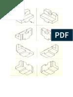 Perspectiva Isométrica - Exercício