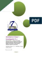 Actividad en Clase 1 - Investikgación C++ 2