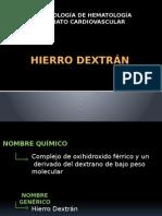 Hierro dextrán