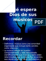 04 Que Espera Dios de Los Músicos