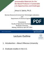 2014 Presentation Brawijaya 042414 Non Technical Villanova Prof Justinus