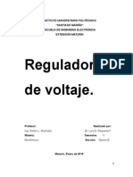 REGULADORES DE VOLTAJE LINEALES