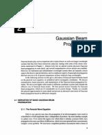 Gaussian Beam Derive