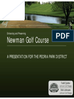 Newman Golf Course - Plan Presentation to Board
