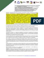 Venezuela. Mafiesto de Organizacnizaciones Sociales de Defensa de Los Derechos Humanos